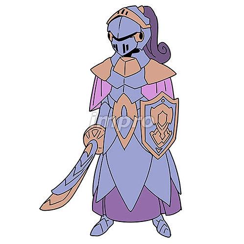 正体不明の騎士
