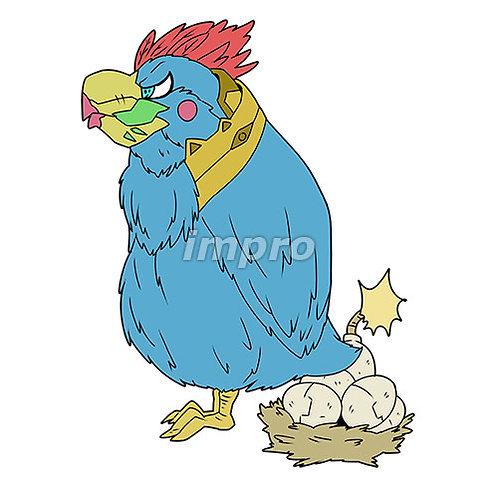 爆弾タマゴの鳥
