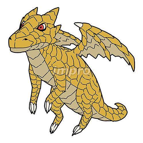 赤眼の黄金ドラゴン