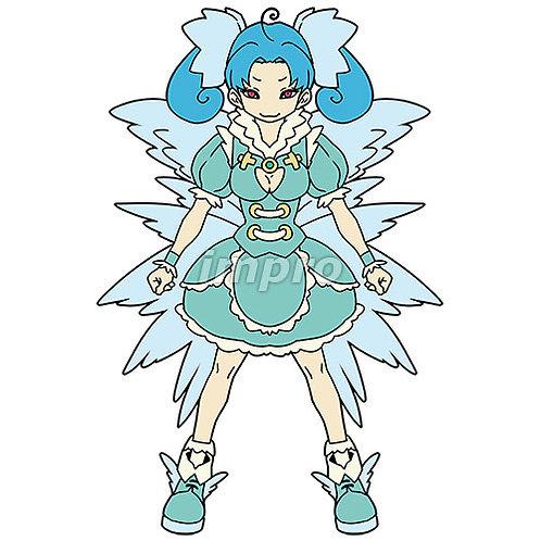 青担当の天使のアイドル