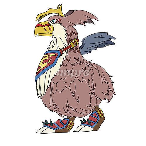 大きな鳥のモンスター