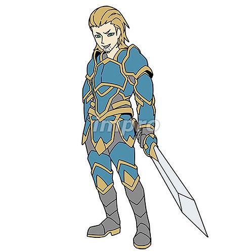チャラい騎士