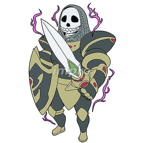 卓越したガイコツ騎士