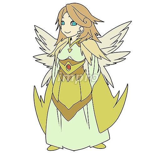 衣を纏った天使