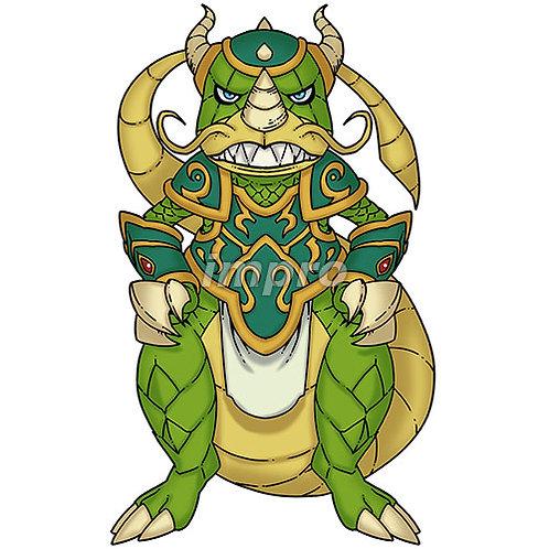 ドラゴンの審問官(影あり)