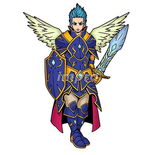 正義感溢れる勇敢な騎士(影あり)