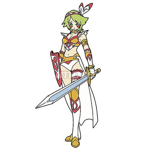 インディアンの剣士