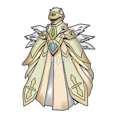 全身装備した謎の天使(影あり)