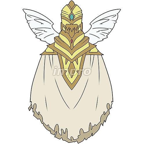鎧を纏った謎の天使