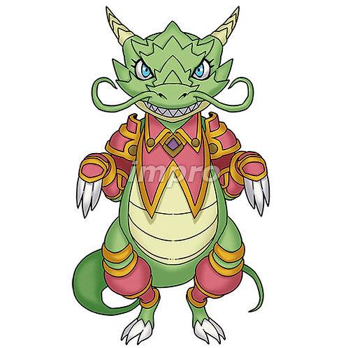 少し生意気な子供ドラゴン(影あり)