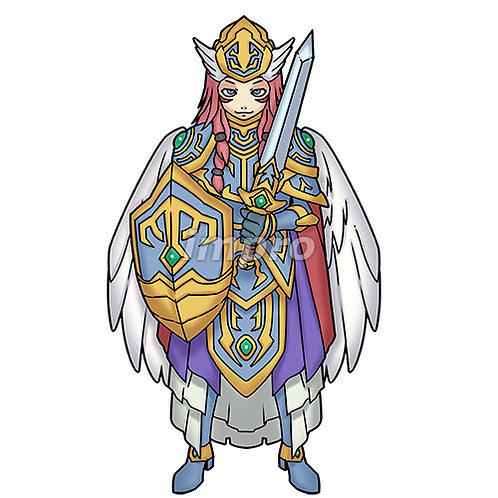 聖なる天使長(影あり)