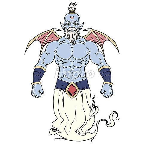 ハートマークの魔人