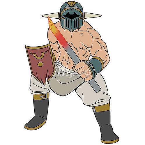 屈強な肉体を持った戦士