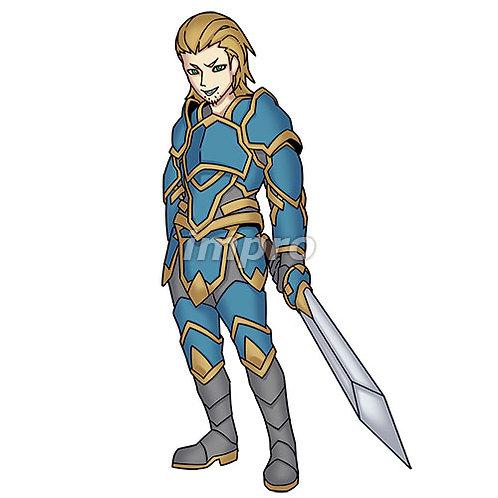 チャラい騎士(影あり)