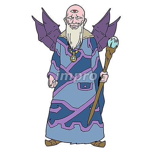 魔術師の老爺