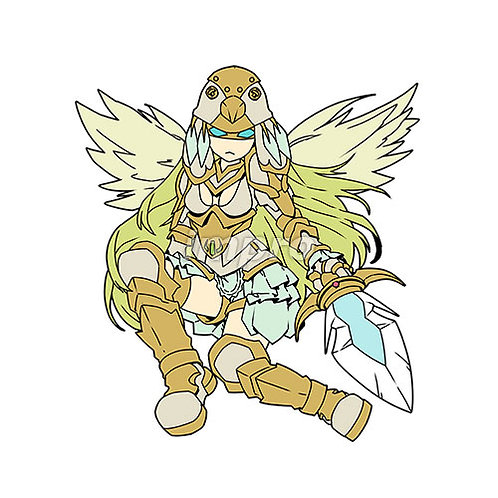 命令する大天使