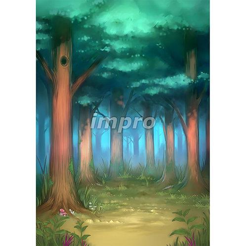木々に囲まれた深い森