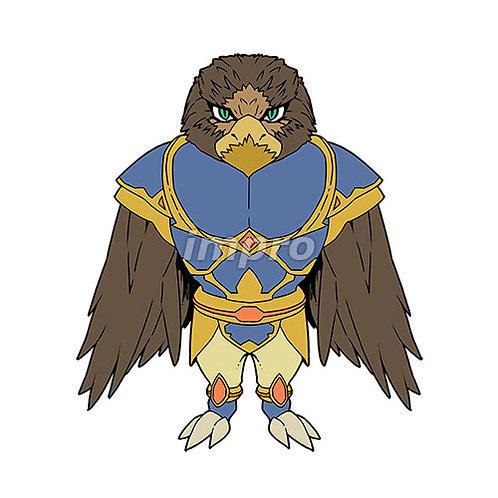 鳥人類の兵士