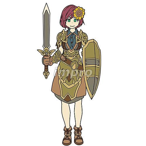 ひまわりの女騎士