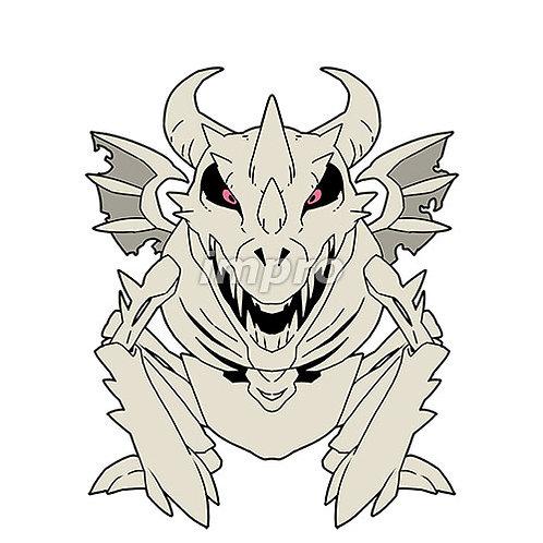 骸骨のドラゴンゾンビ