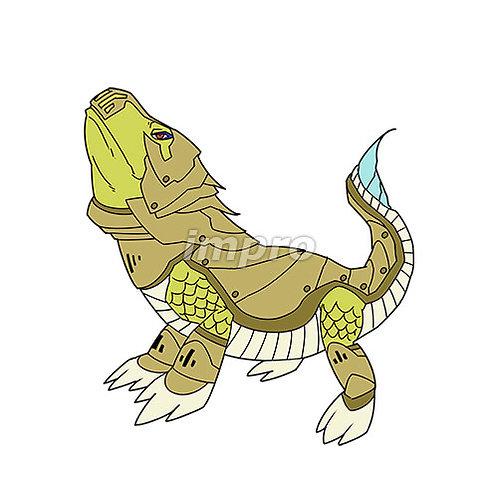 武装したトカゲ