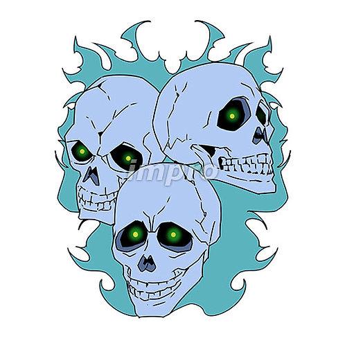 3つの骸骨