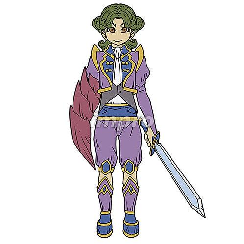 蟹手の若き剣士