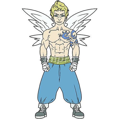 格闘家の天使