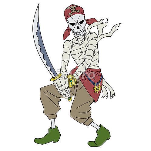 骸骨の海賊