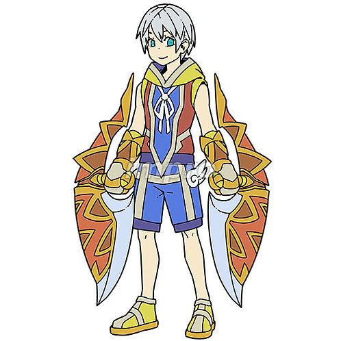 不思議な武器を持つ少年