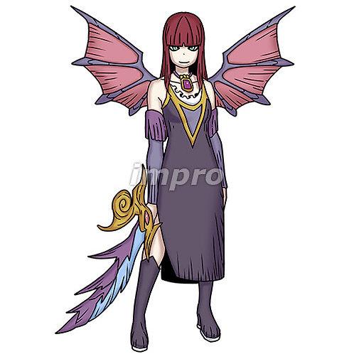 古城に住む悪魔の姫(影あり)