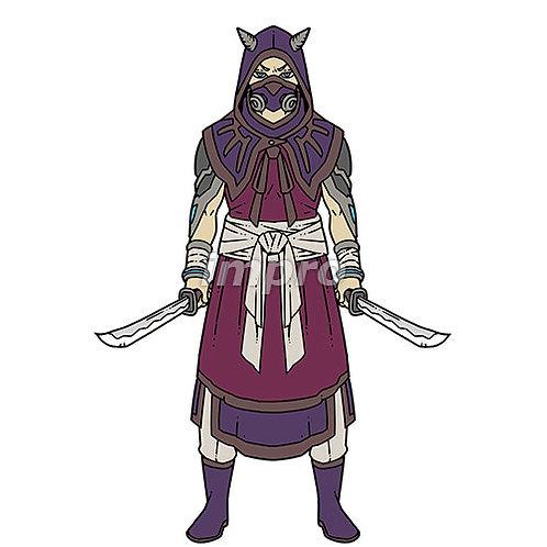 双剣の暗殺者