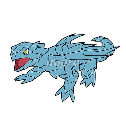 蒼い子供のドラゴン