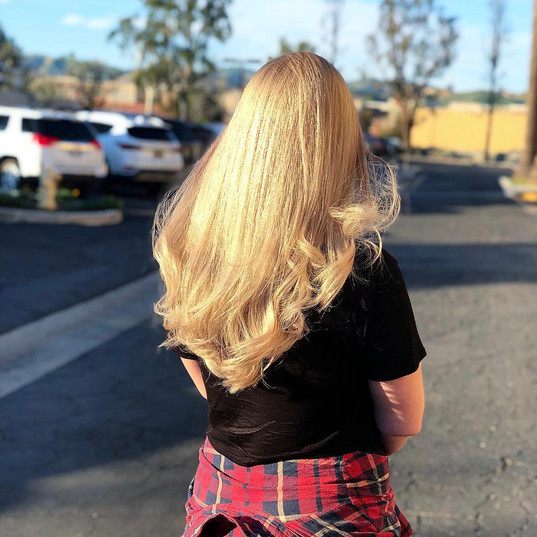Honey Blonde Double Process