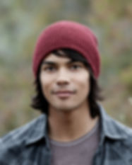 Young Man with Beanie