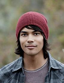 Modern-Day Nephi, eskimo, boy, native american, red beanie, shaggy dark hair, handsome, cute, guy, model,