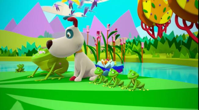 Ragoo and frogs YoYo RAI