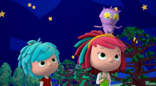 YoYo and owl starry night RAI
