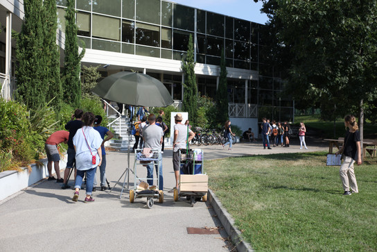 Outdoor filming POV I primi anni