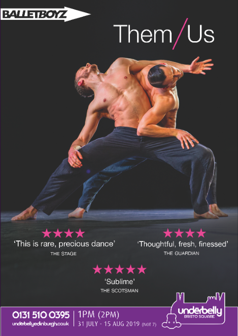 BalletBoyz at Edinburgh Fringe