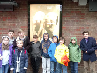 BalletBoyz Classes' trip to Sadler's Wells