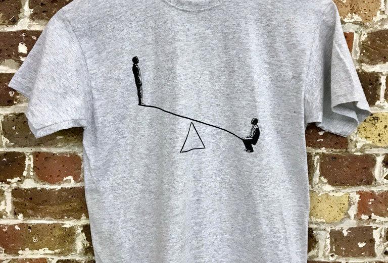 Fourteen Days T-Shirt Grey