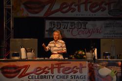 Headlining on the Zestfest stage