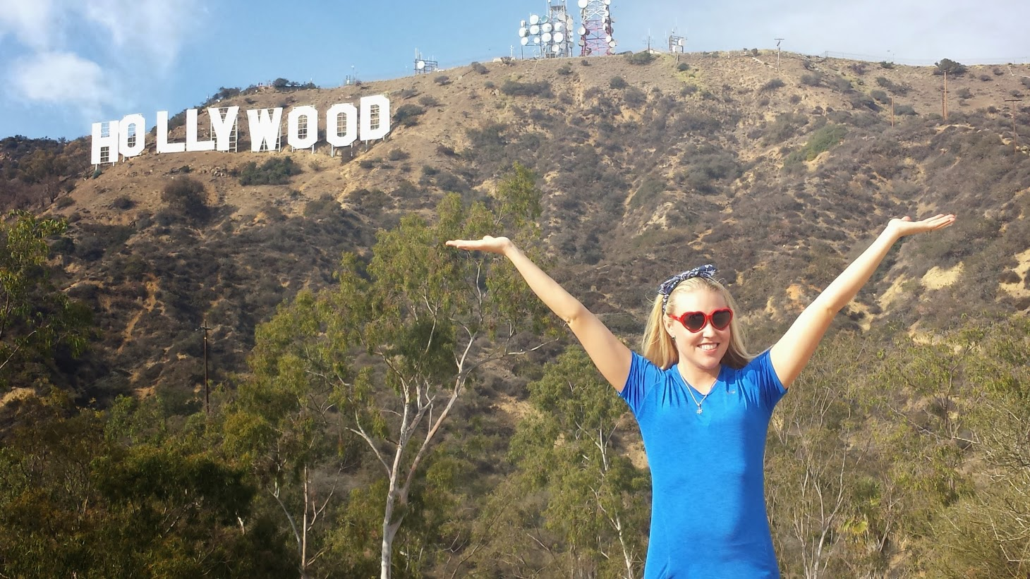 Sarah in Hollywood