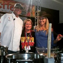 Sarah, Dana, and Grady Spears
