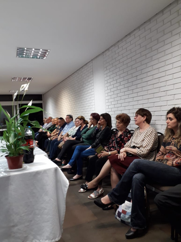 Lançamento na Sinagoga Linat Hatsedk