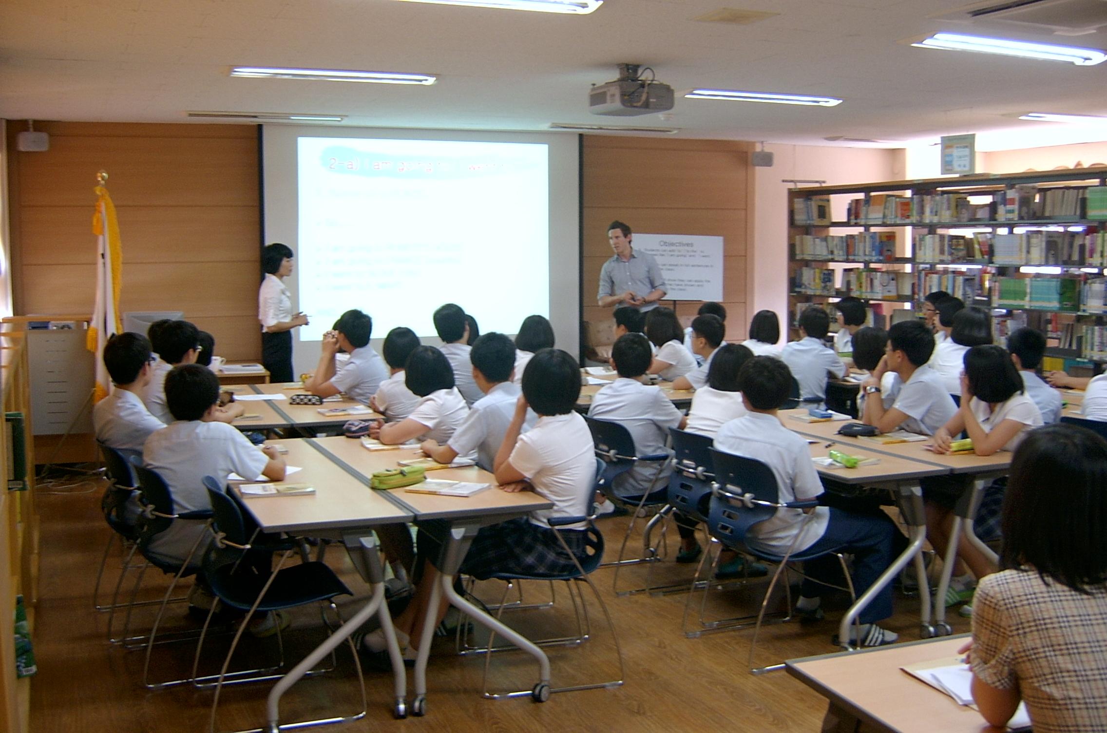 Class with co-teacher