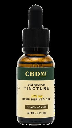 CBDMI Full Spectrum Tincture | Vanilla Almond