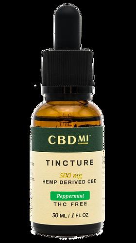 CBDMI Isolate Tincture | Peppermint