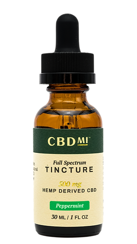 CBDMI Full Spectrum Tincture | Peppermint